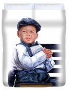 Commissioned - Handsome Baby Boy 1a Duvet Cover