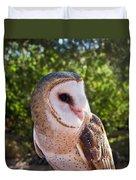 Common Barn Owl 10 Duvet Cover