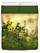 Common Brighteyes Natural Bouquet Duvet Cover