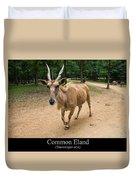 Common Eland Duvet Cover by Chris Flees