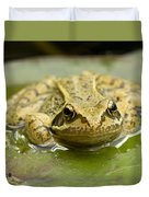 Common Frog Duvet Cover