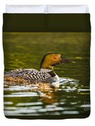 Common Loon Pictures 145 Duvet Cover