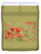 Common Poppies Duvet Cover