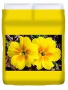 Common Primrose 1 Duvet Cover