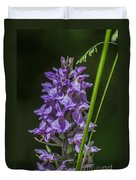 Common Spotted Orchid Duvet Cover
