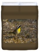 Common Yellowthroat Duvet Cover