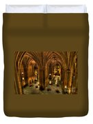 Commons Room Cathedral Of Learning University Of Pittsburgh Duvet Cover
