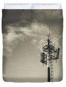 Communication Tower Duvet Cover