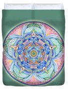 Compassion Mandala Duvet Cover