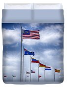 Competing Countries V2 Duvet Cover