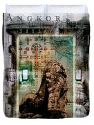 Composition Based On Angkor History Duvet Cover