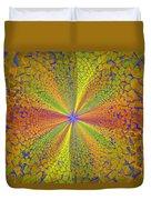 Computer Generated Fractal Art Duvet Cover