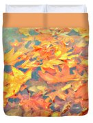 Computer Generated Image Of Autumn Duvet Cover