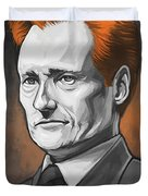 Conan O'brien Artwork Duvet Cover