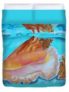 Conch Shallows Duvet Cover