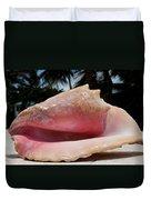 Island Conch Shell Duvet Cover