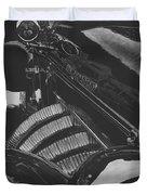 Concours At Dusk 1935 Auburn Speedster Duvet Cover