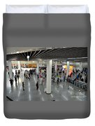 Concourse At People's Square Subway Station Shanghai China Duvet Cover