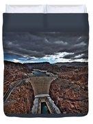 Concrete Canyon Duvet Cover