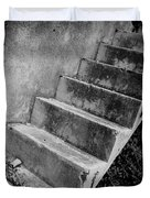 Concrete Steps Duvet Cover