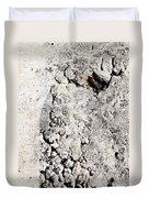 Concrete Texture Duvet Cover