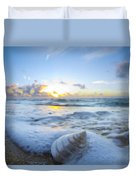 Cone Shell Foam Duvet Cover