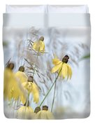 Coneflower And Bee 1  Duvet Cover