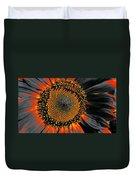 Coneflower Heart Duvet Cover