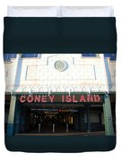 Coney Island Bmt Subway Station Duvet Cover