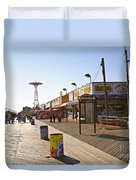 Coney Island Memories 8 Duvet Cover
