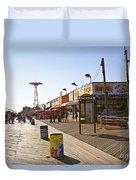 Coney Island Memories 8 Duvet Cover