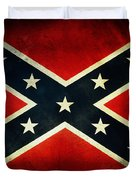 Confederate Flag 4 Duvet Cover