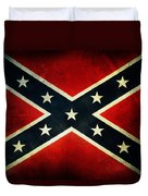 Confederate Flag Duvet Cover by Les Cunliffe