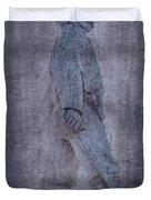Soldier Statue Vii Alabama State Capitol Duvet Cover