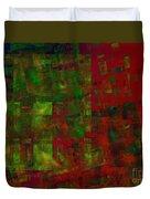 Confetti - Abstract - Fractal Art Duvet Cover