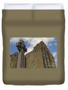 Cong Abbey, Ireland Duvet Cover