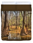 Congaree National Park Duvet Cover