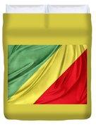 Congo Flag Duvet Cover