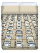 Congress Plaza Hotel Windows Duvet Cover