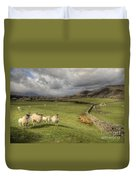 Coniston Sheep  Duvet Cover