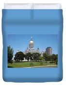Connecticut State Capitol Hartford Duvet Cover