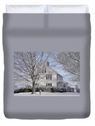 Connecticut Winter Duvet Cover