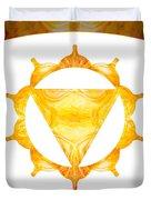 Conscious Spirituality Abstract Chakra Art By Omaste Witkowski Duvet Cover