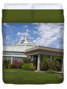 Conservatory At The Huntington Library Duvet Cover