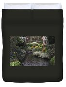 Conservatory In Autumn Duvet Cover