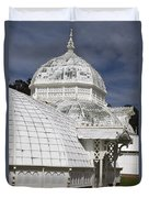 Conservatory Of Flowers Gate Park Duvet Cover