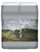 Constable's Wivenhoe Park In Essex Duvet Cover