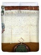 Constantijn Huygens Knighthood 1622 Duvet Cover