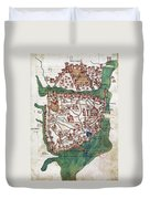 Constantinople, 1420 Duvet Cover