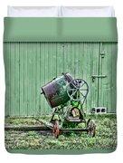 Construction - Cement Mixer Duvet Cover